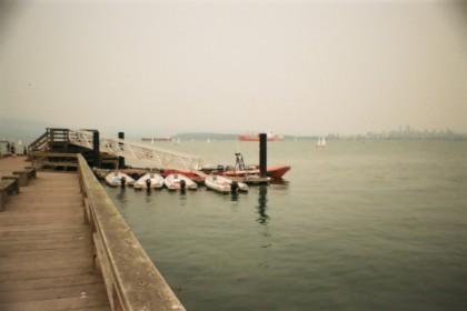 pier at Jericho Beach