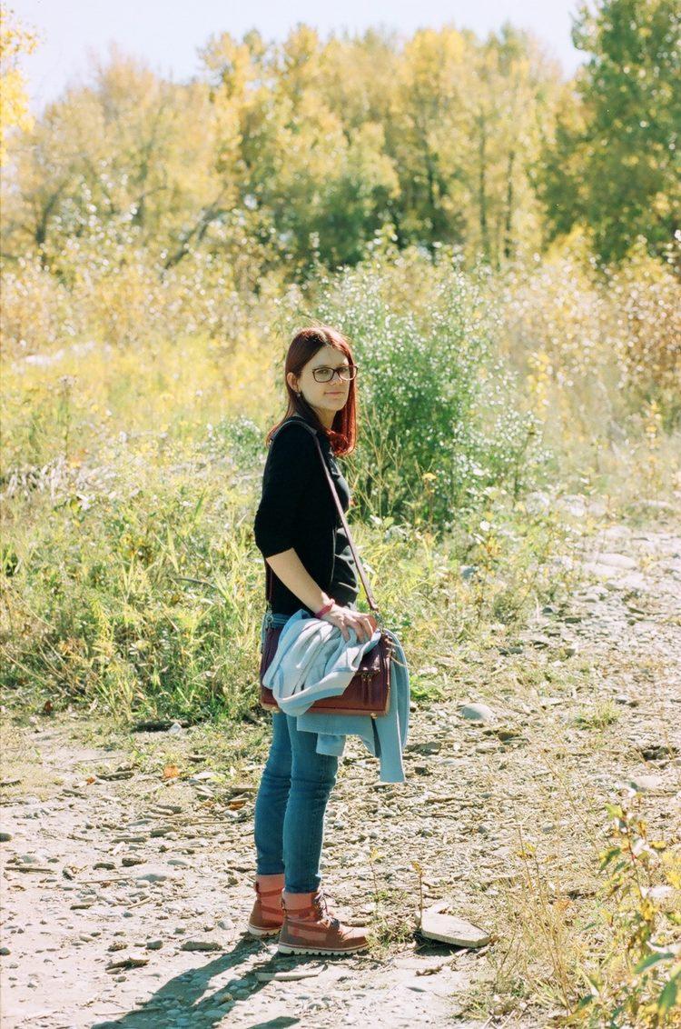 portrait shot on Ferrania Solaris FG 100