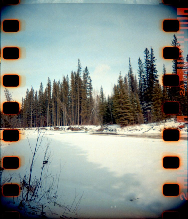 Fish Creek in winter
