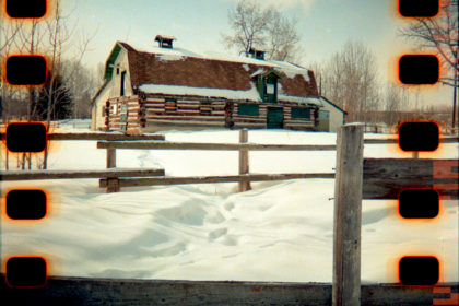 old Willans family barn at Fish Creek Park