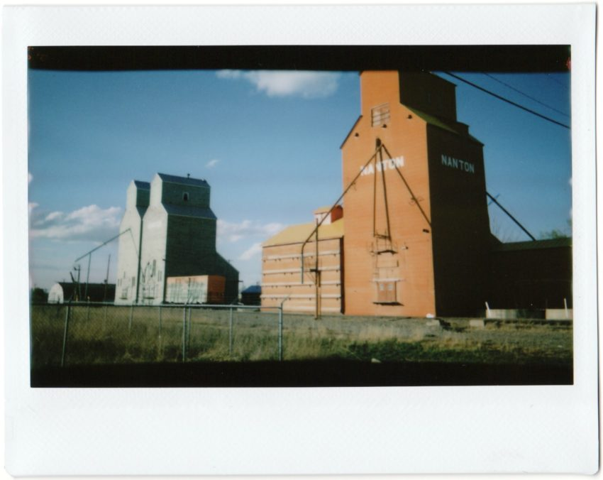 Nanton grain elevators