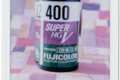 roll of Fuji Super HG V 400 film