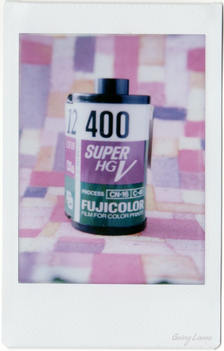 roll of Fuji Super HG V 400 film