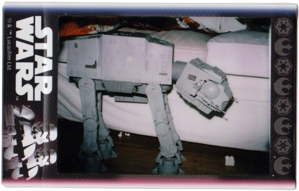 Star Wars AT-AT on Instax Mini