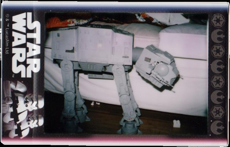 Star Wars AT-AT on Instax Mini