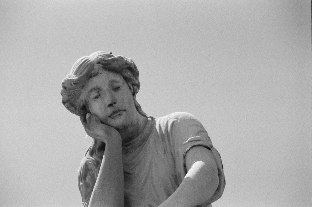 Breckenridge statue close-up
