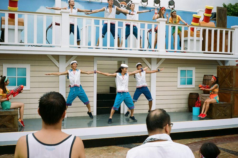 Ocean Park show Hong Kong
