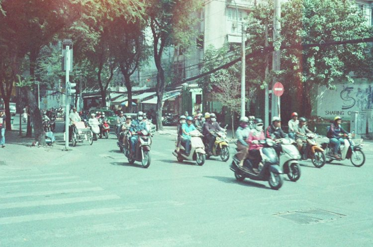 scooters in Vietnam