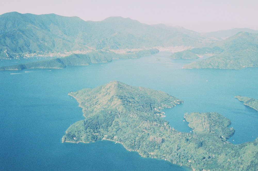 Picton & Waikawa New Zealand from the air
