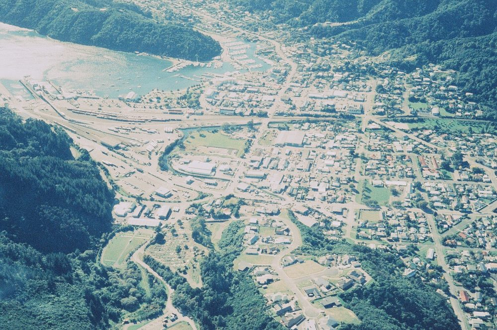 Picton New Zealand from the air