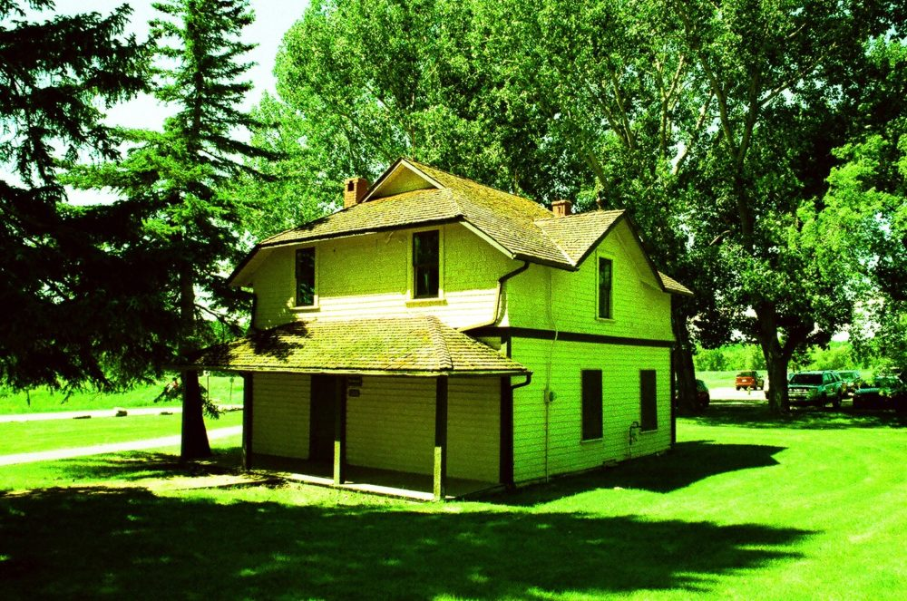 buildings at Bow Valley Ranch in Fish Creek Park