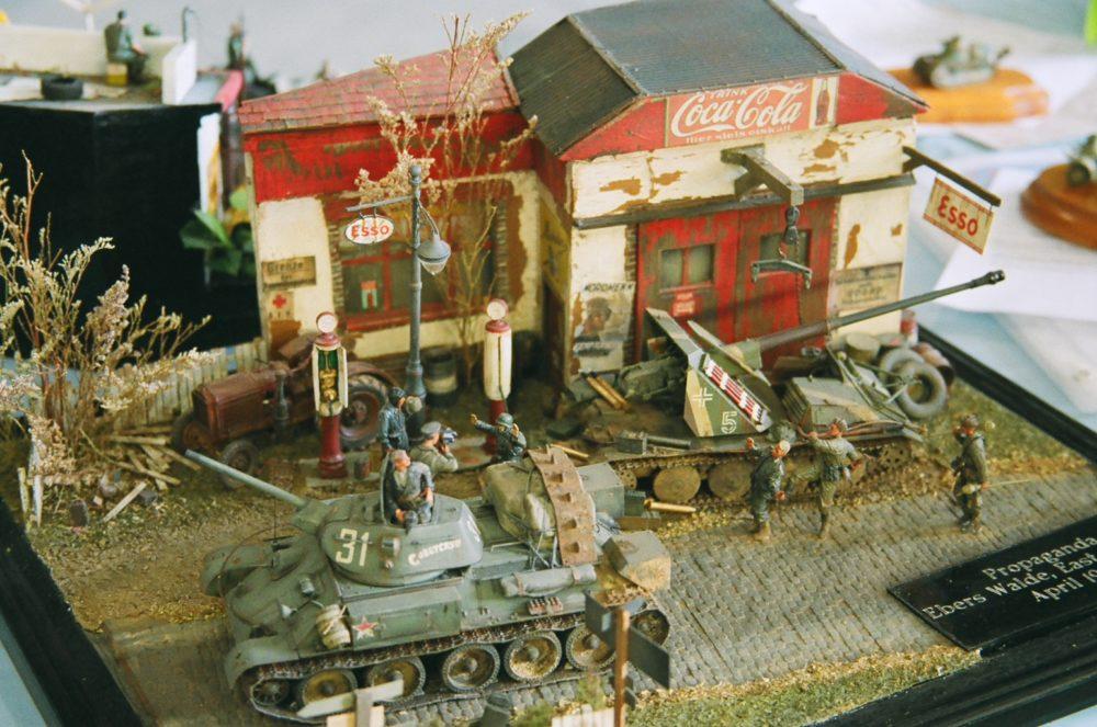 Coca-Cola, Esso and Soviet tanks