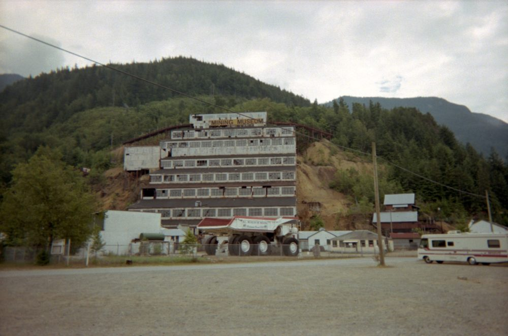 the old Britannia Mine (now a museum)