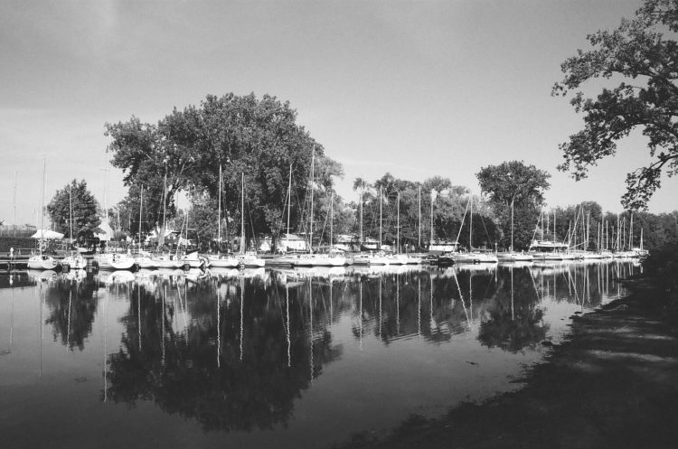 marina on Toronto Island