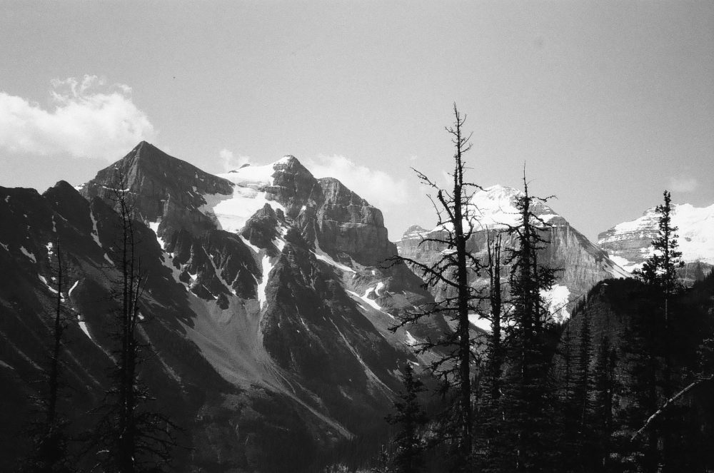 Haddo Peak, Mount Aberdeen, Mount Lefroy & Mount Victoria