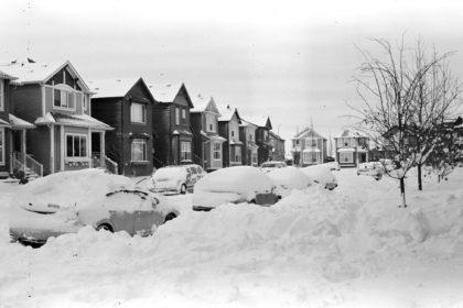 40cm of snow in Calgary, Alberta