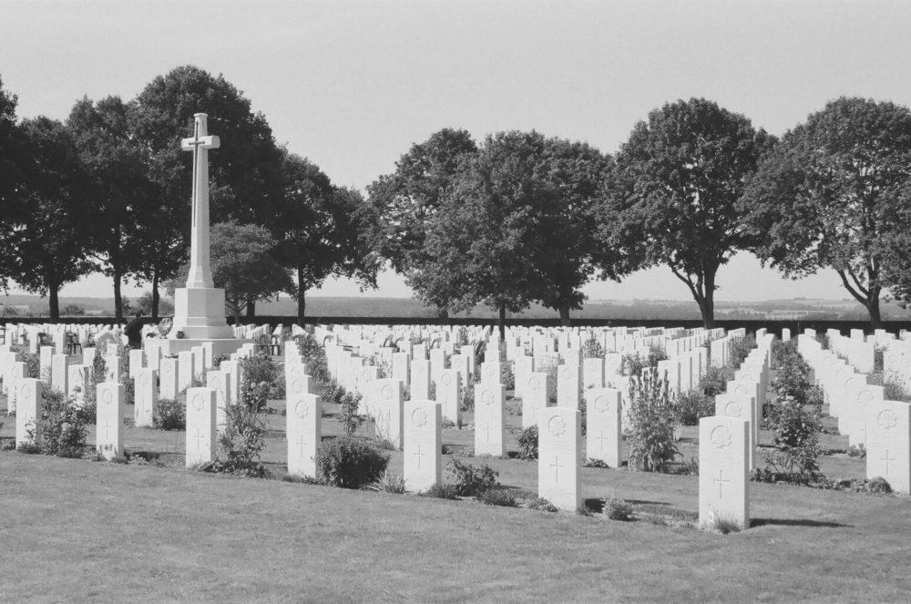 Bretteville-sur-Laize Canadian War Cemetery, France