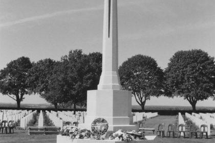 Cross of Sacrifice, Bretteville-sur-Laize, France