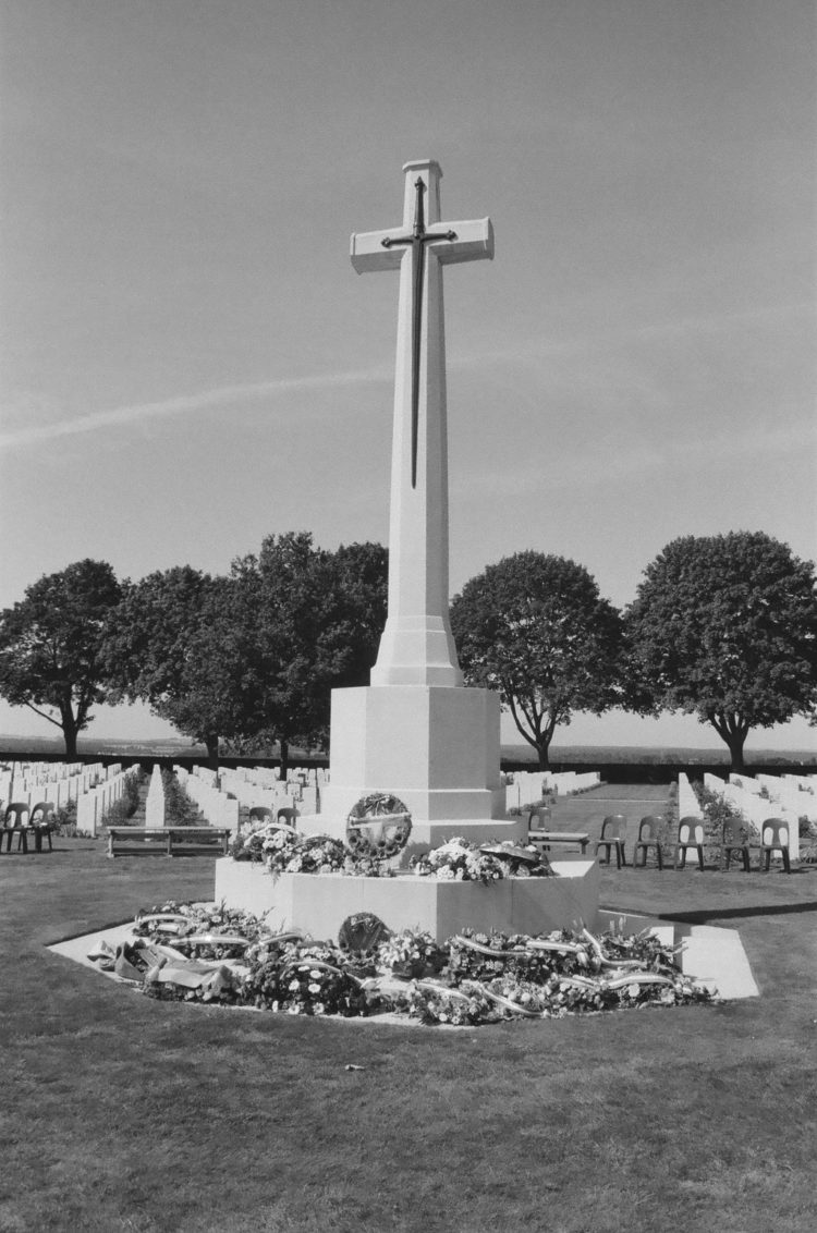 Cross of Sacrifice, Bretteville-sur-Laize, France