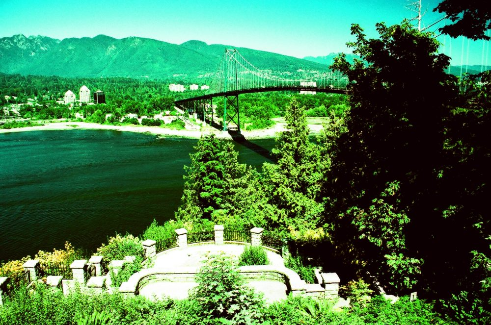 Lions Gate Bridge as seen from Prospect point