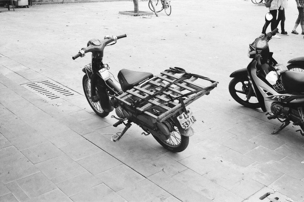 a scooter in Hoi An, Vietnam