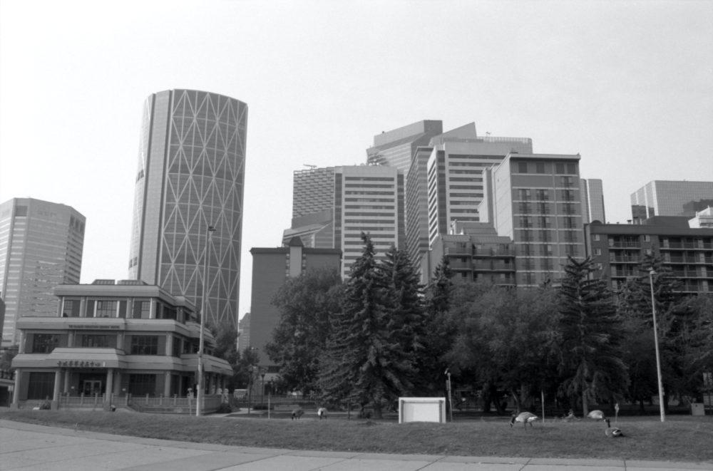 Sien Lok Park, downtown Calgary, Canada
