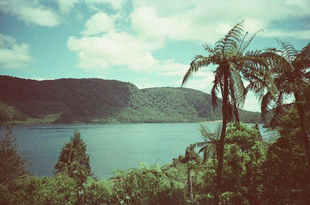 Blue Lake (Tikitapu), New Zealand