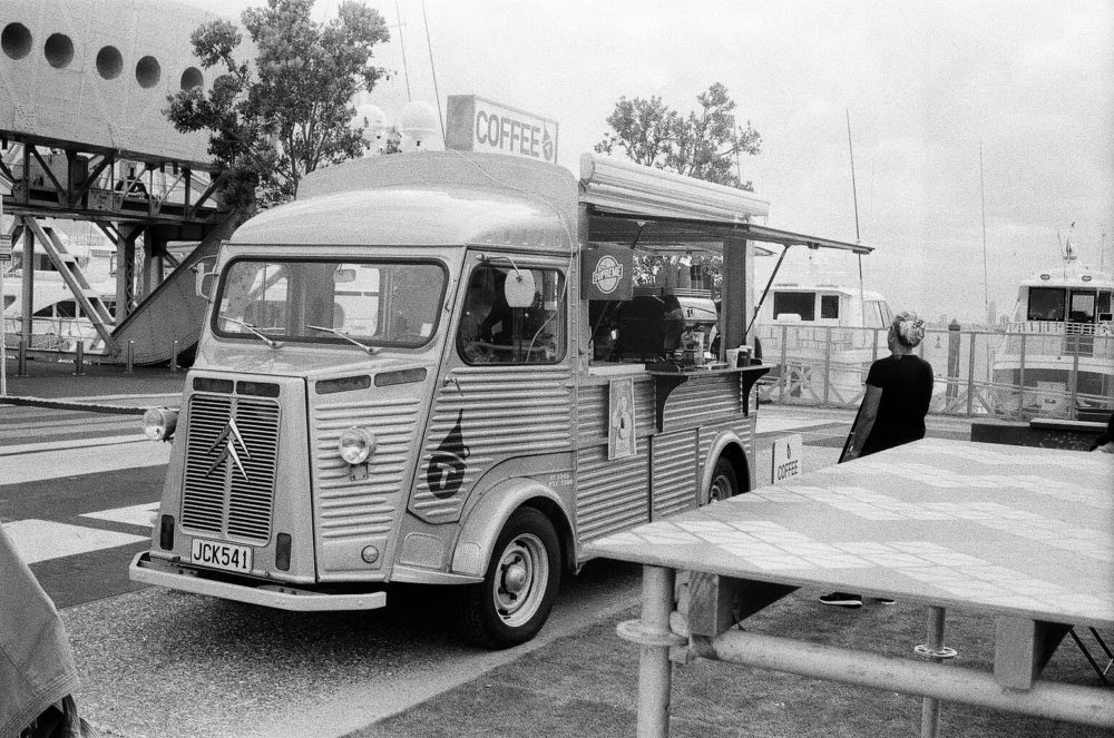 coffee truck in Auckland
