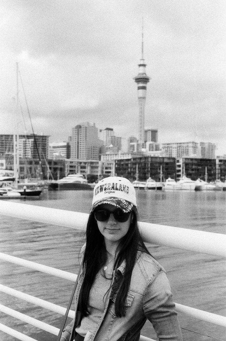 Sky Tower in Auckland, NZ