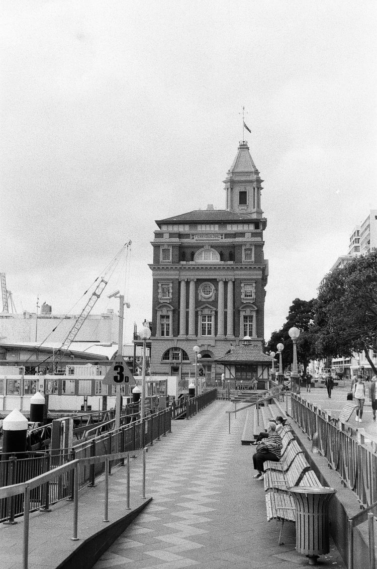 the Ferry Building in Auckland, NZ