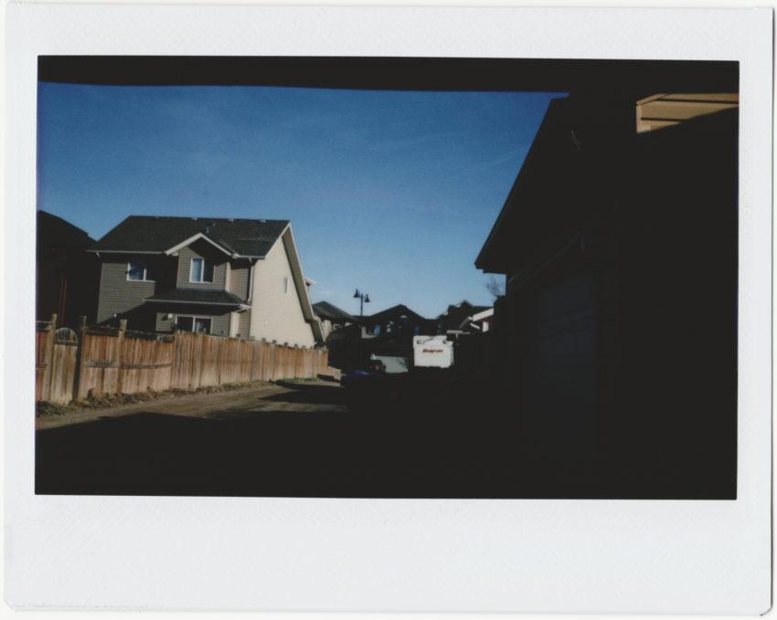 Instax photo shot with a modified Belair & Kodak Anastigmat lens